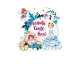 Cinderella Dreams Come True Reproduction Fabric Crazy Quilt Block Free Shipping World Wide