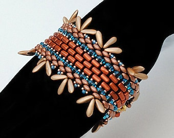 Amalia. Bracelet. Beaded Tutorial