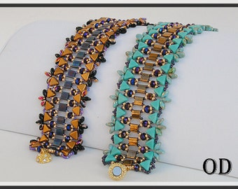 Lilian. Bracelet. Beaded Tutorial