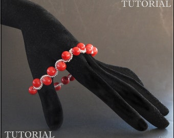 Wave Berry. Bracelet. Beading TUTORIAL