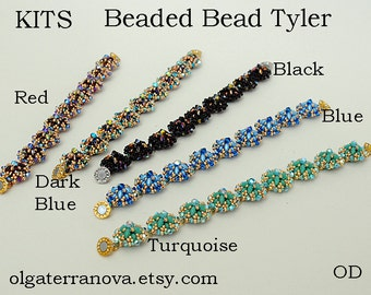 Beaded Bead Tyler. Beaded Kits For 1 (one) Beaded Bead