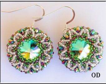 Mojito. Tutorial. Beadwork. Beading Tutorial. ENGLISH LANGUAGE