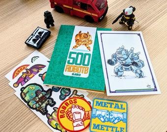 500 ROBOTS Sketchbook Bundle