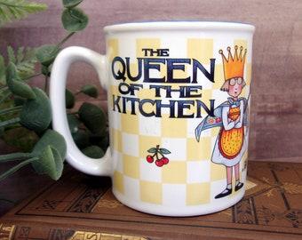 Vintage Mary Engelbreit Queen of the Kitchen Coffee Mug