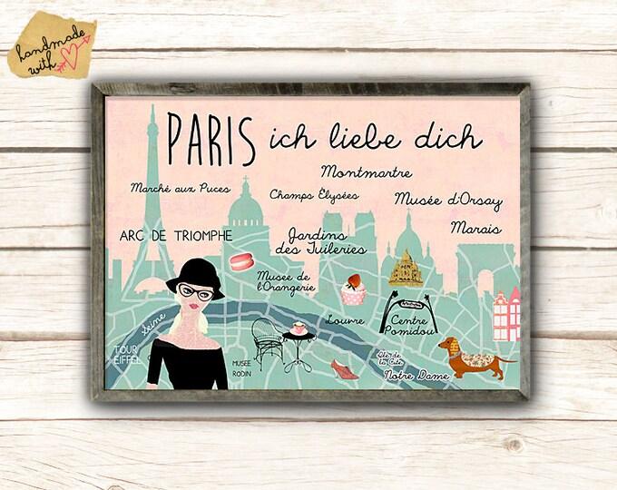 A3 Paris-Mon Amour poster