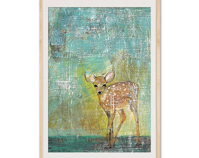 Painted Fawn poster