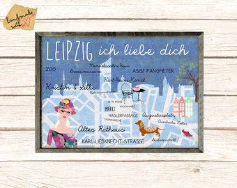 Leipzig I love you poster