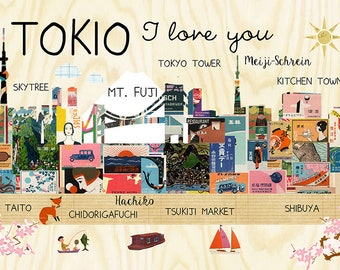 Tokyo I Love You Poster