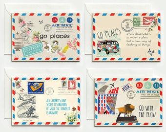 4 Good travel folding cards