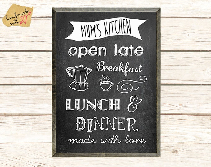 Neu A3 Mum's kitchen - OPEN LATE