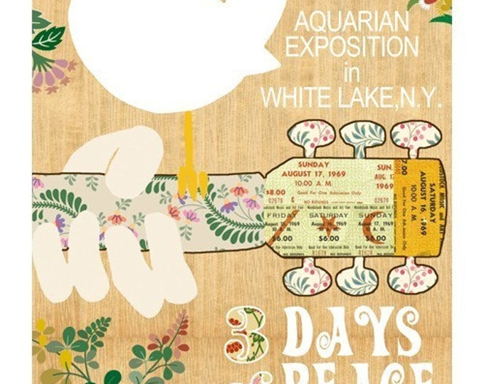 Woodstock Birdie Collage Print