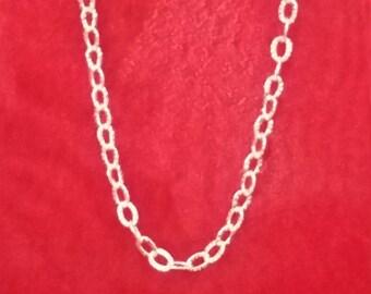 6586 Sterlingsilber Knöchel Armband, Halskette