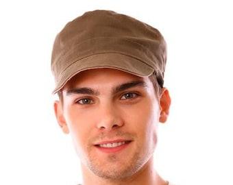 Hemp Reversible Engineer Hat Mens