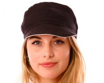 Hemp Engineer Hat Reversible