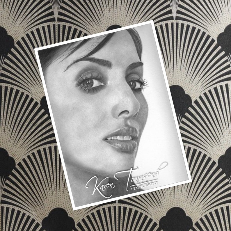 Original drawing of Natalie Imbruglia