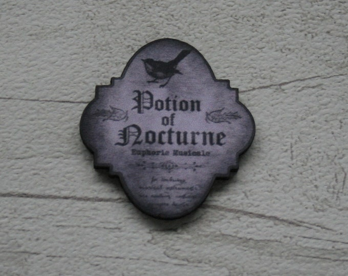 Potion Ingredient Brooch - Potion of Nocturne