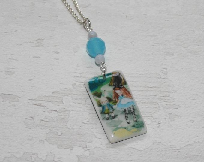 Alice in Wonderland Statement Necklace