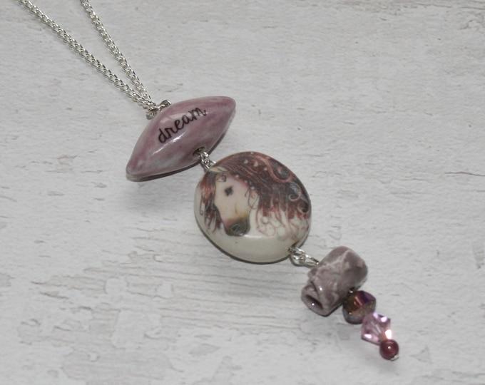 Horse Statement Necklace, Pony Pendant, Woodland, Animal Necklace