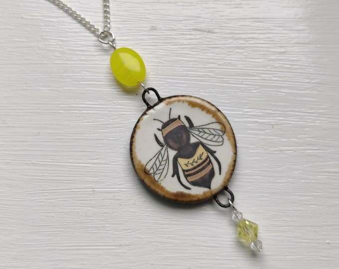 Bee Statement Necklace