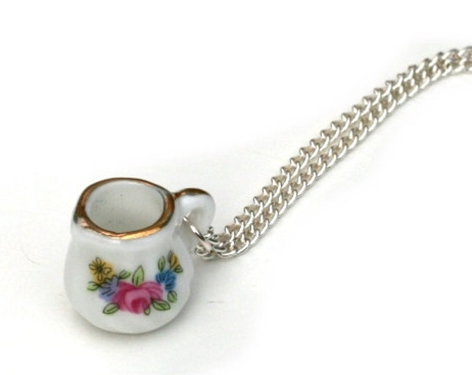 Milk Jug Necklace, Miniature milk jug necklace, Afternoon Tea