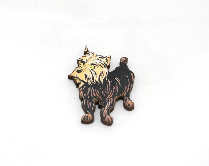 SALE - Toto Brooch, Wizard Of Oz