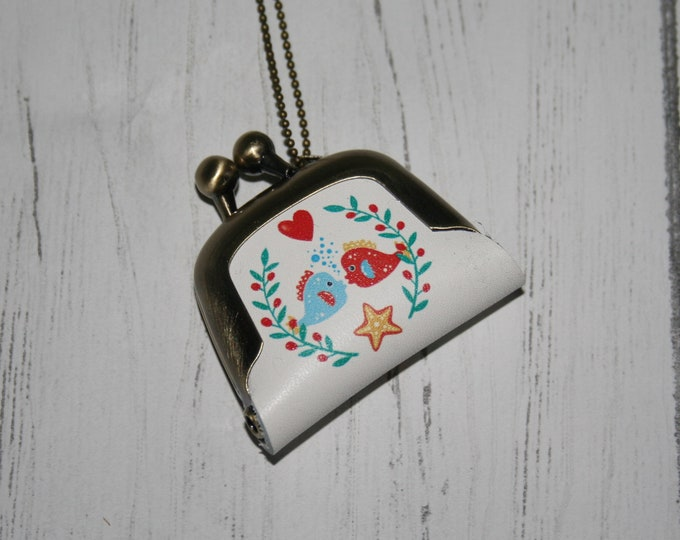 Fish Coin Purse Necklace