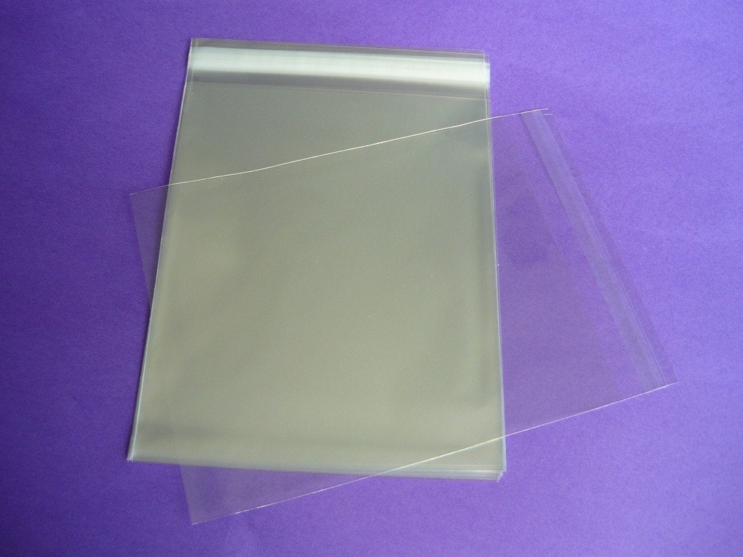 25 124 X 182 12x18 Clear Resealable Cello Bag Plastic Etsy