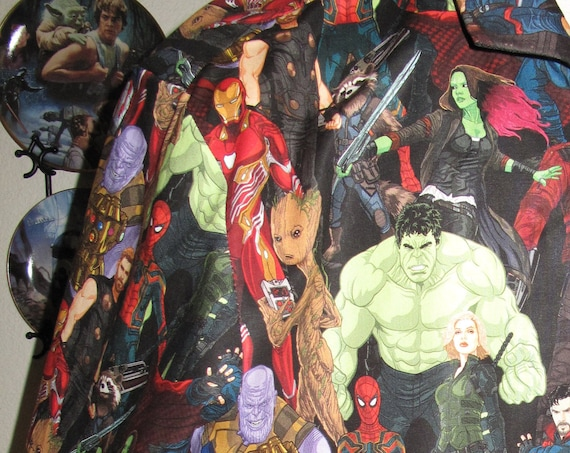 Avengers Infinity War SuperHeros Print Men's shirt in 10 sizes