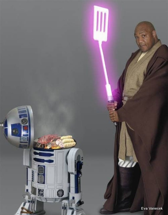 Star Wars Jedi Master Mace Windu 100% wool costume robe in 5 sizes