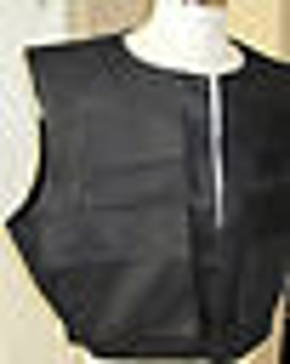 Han Solo ROTJ version Black vest in 9 sizes