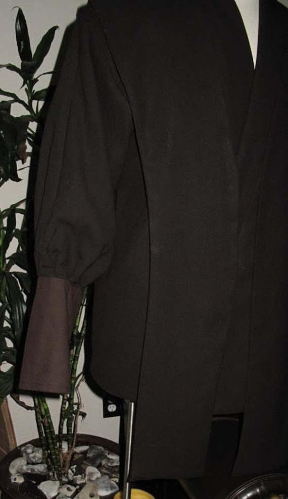 Anakin episode 3 fabric tunic,tabards and a sash,4 piece costume set, pleather tabards not included