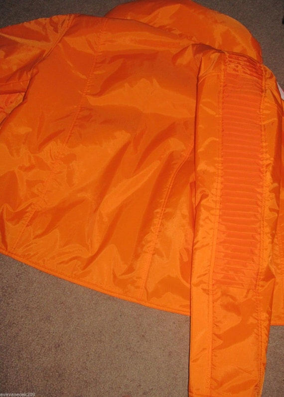 Luke Skywalker Star Wars Hoth Rebel Pilot Orange X-wing Jacket with knife pleats in several sizes