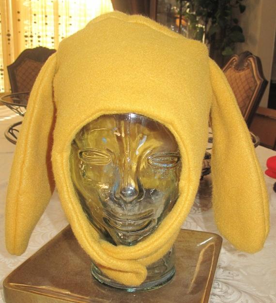 Dog fleece ear flap warm ski winter hat in 3 colors &  6 sizes
