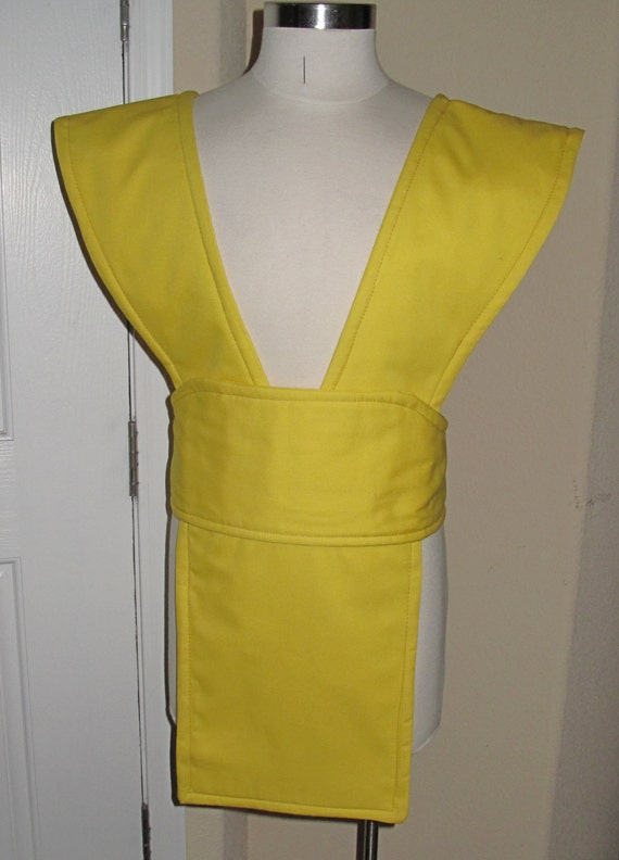Yellow Scorpion  Mortal Kombat tabard and sash in several sizes