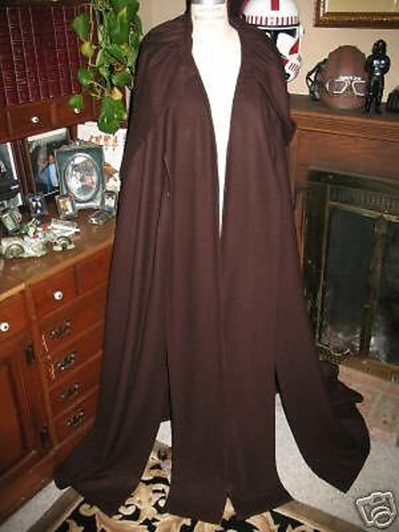 Star Wars Anakin Skywalker Episode 2 100% wool suiting cloak in 5 sizes