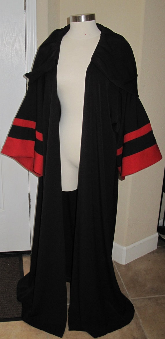 Star Wars Sith Acolyte Costume 100% Wool Robe in several sizes