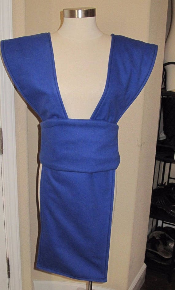 Cosplay Royal Blue Sub-Zero  Mortal Kombat tabard and sash in several sizes