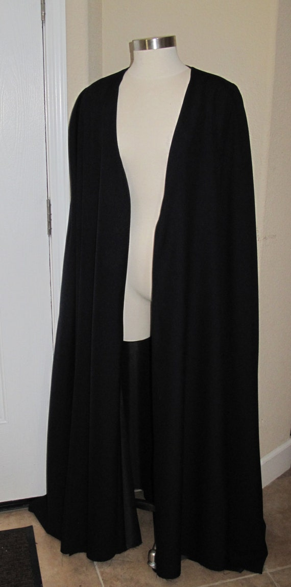 Cloak,Robe without sleeves with lining  in 6 sizes with or without hood
