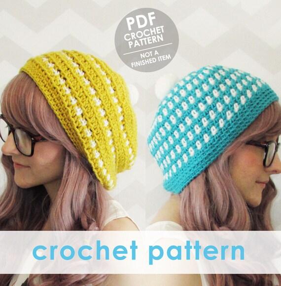 Crochet Pattern Crochet Hat Pattern For Women Crochet Hat