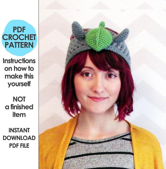 Crochet Pattern Crochet Headband Pattern Totoro Headband Etsy