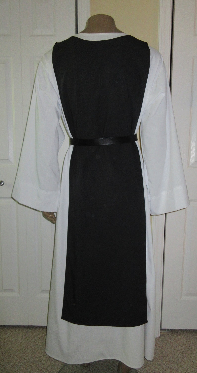 Made to Order Scapular WITHOUT Hood Linen Look or Cotton Twill Any Color
