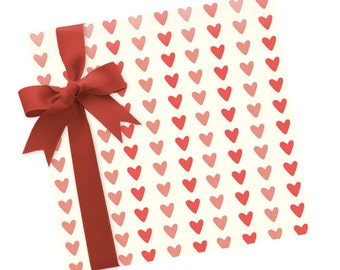 Hearts - Wrapping Paper