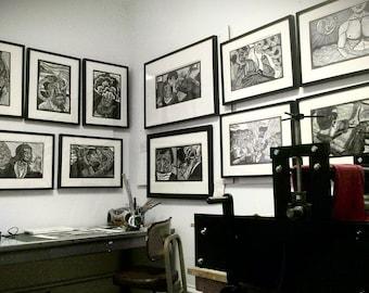 Year-long Printmaking subscription