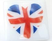 Union Jack flag coaster, ...