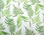 Green fern glass fusing d...