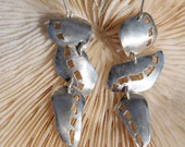 Follow your Path Large Sterling Silver Earrings