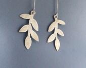Sterling Silver Silhouette Branch Earrings
