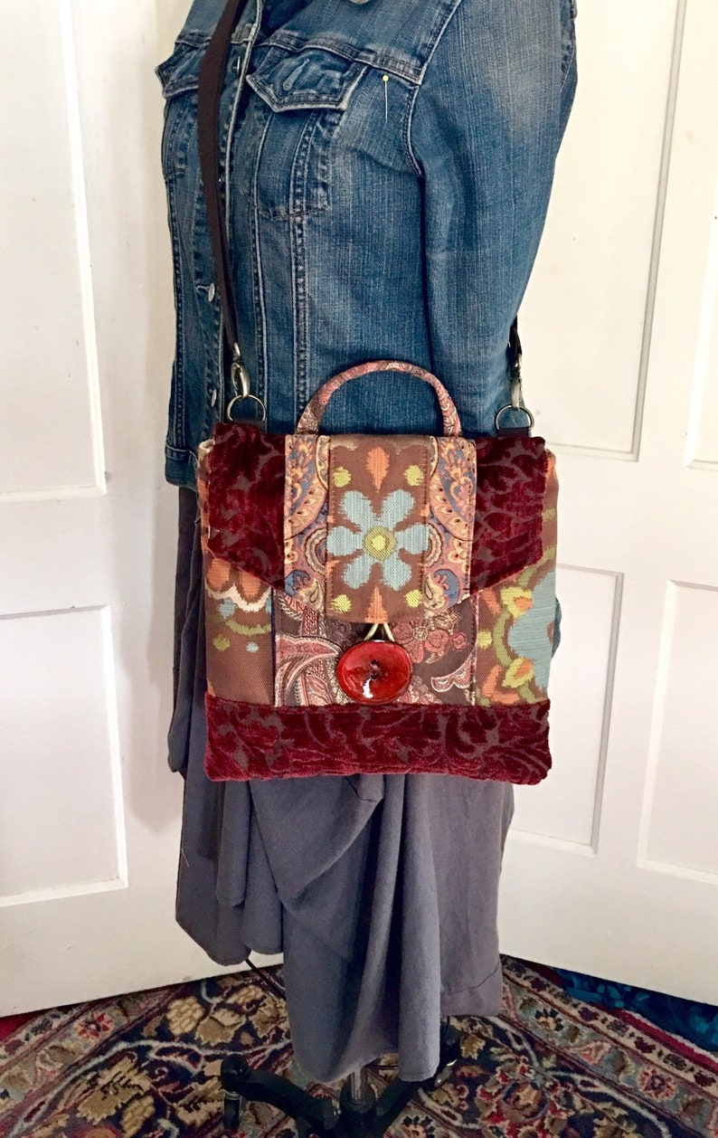 Crossbody and backpack in one