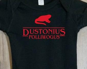 Stranger Things - Dustonius Polliwogus Onesie or Toddler Shirt