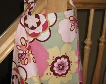 Nursing Cover - Big Pink Floral